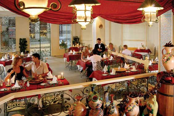 Restaurant Riu El Mansour