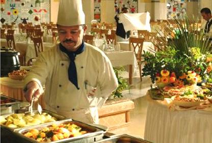 Restaurant Riu Bellevue Park