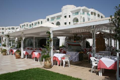 Restaurant hôtel El Mouradi Mahdia