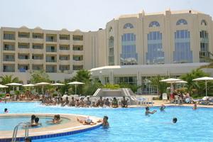 Piscine hôtel El Mouradi El Menzah à Hammamet