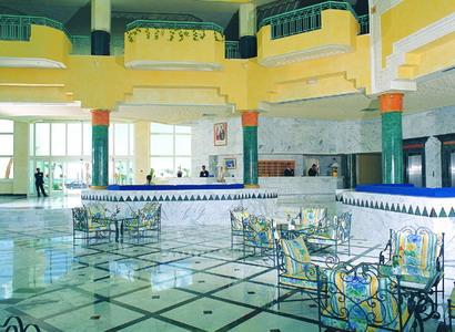 Réception hôtel El Mouradi El Menzah à Hammamet