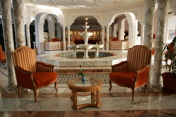 réception hôtel Hasdrubal Thalassa & Spa Djerba
